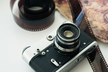 Beautiful photo of vintage camera