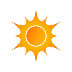 Sun vector illustration