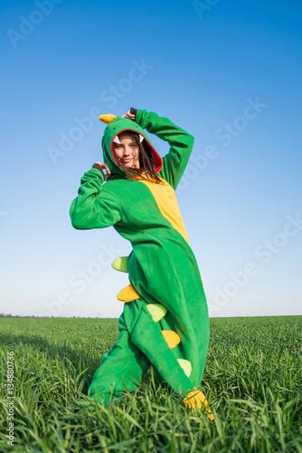 Girl dragon kigurumi