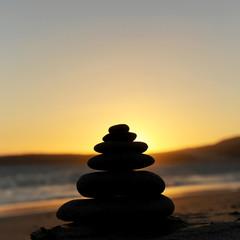 Zen sunset