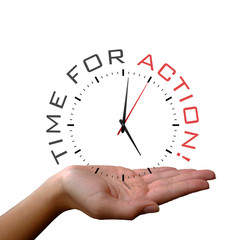 Clock in Hand - Time for Action!