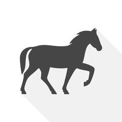 Horse icon - vector Illustration
