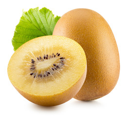 kiwi gold isolated on the white background