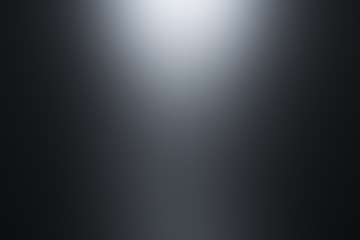 Black gradient with spotlight backdrop wallpaper. Abstract gradient black, used as background for display your products