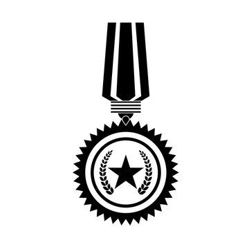Medal of honor for the best military, vector illustrtion design