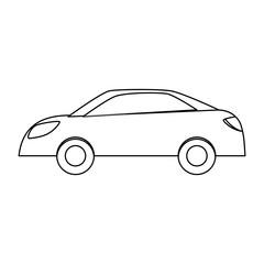 Figure drive car icon image, vector illustration