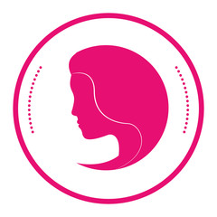 feminism representation icon image vector illustration design