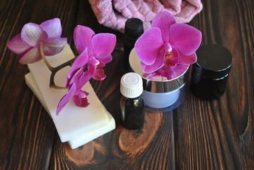 SPA z orchideą