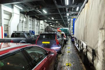 Ferry ship in Scotland, United Kingdom