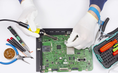 Repair of the digital printed circuit board concept