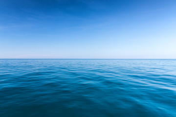 sea background,deep blue water