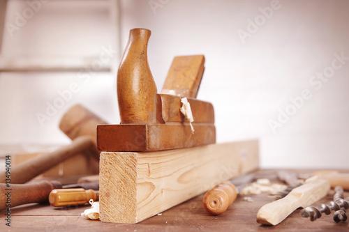werkstatt zur holzbearbeitung stockfotos und lizenzfreie bilder auf bild 134940814. Black Bedroom Furniture Sets. Home Design Ideas
