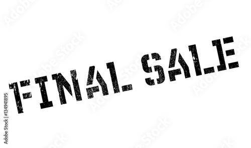 Final Sale Rubber Stamp Grunge Design With Dust Scratches Effects Can Be Easily Removed