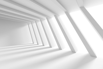 Fotobehang - White Building Construction