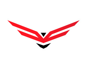 Wing Army Logo Vector