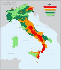 Mappa Sismica Italiana Indicativa