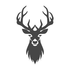 Deer head illustration vector