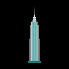 skyscraper flat icon