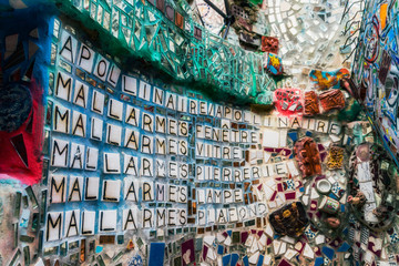 Magic Garden Philadelphia's is a non-profit organization, folk art environment, and gallery space. It is the largest work created by mosaic artist Isaiah Zagar.