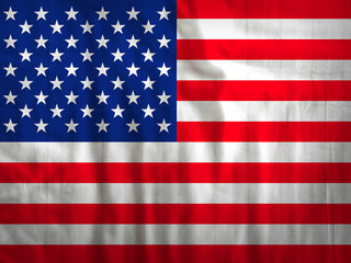 United states of America flag fabric texture textile