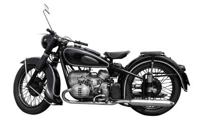 schönes altes oldtimer motorrad von 1925