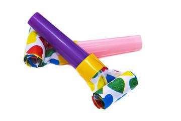 Colorful matasuegras