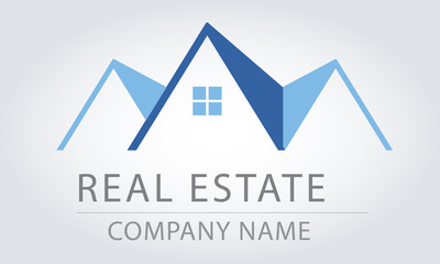 Logo House - Real Estate - Vector