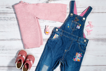 Baby girl clothes collection