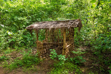 House of vedda people