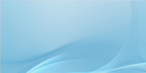 Abstract blue background with waves. Fractal