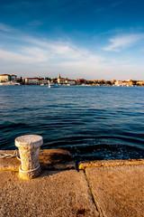 Pula Croatia sea front