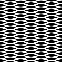 Abstract wavy vector seamless pattern