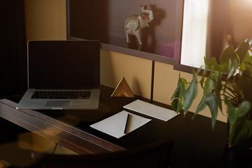 Desk, desktop, top.