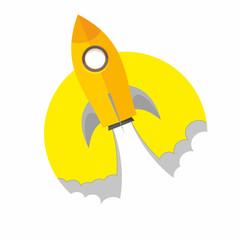 rakieta, rocket launch,  spacecraft