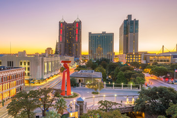 Fotomurales - Downtown San Antonio skyline