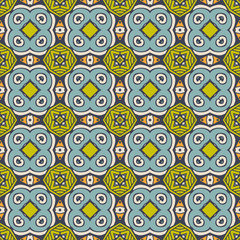 Abstract tile seamless pattern