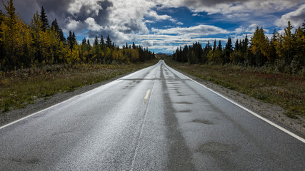 August 26, 2016 - Reflections on Richardson Highway, Route 4, Alaska