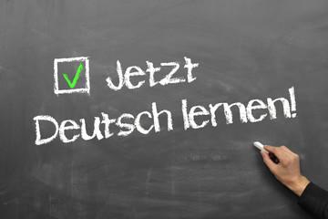 Jetzt Deutsch lernen!