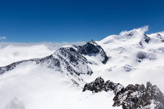 Bergrücken zur Wildspitze