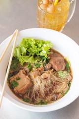 stewed pork noodle