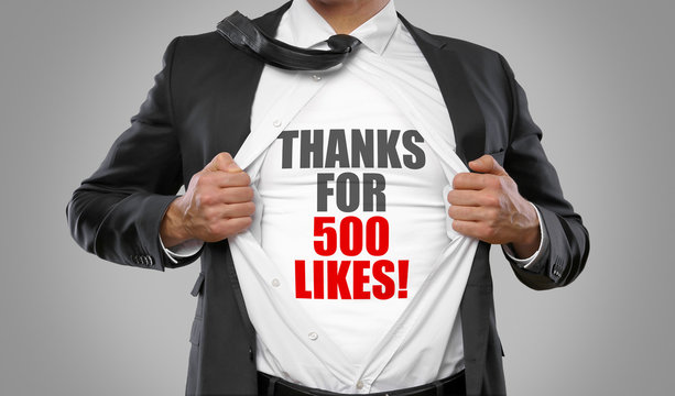 Thanks for 500 Likes