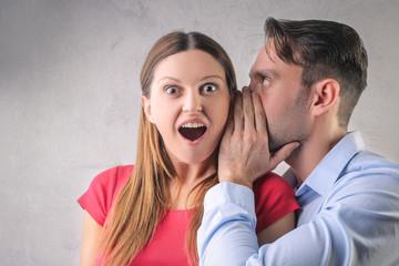 Boyfriend telling secret