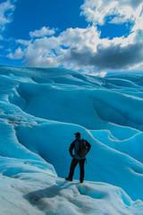 escalando el glaciar perito moreno
