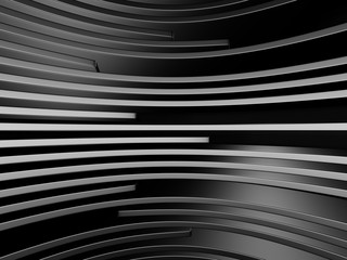 Dark Metallic Construction Design Background