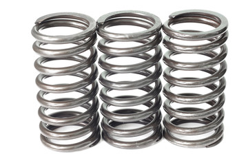 Metal steel spring spare parts for industry.