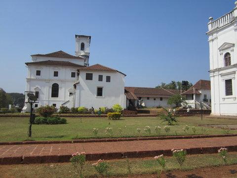 Historical Old Goa,Portuguese Church,India.