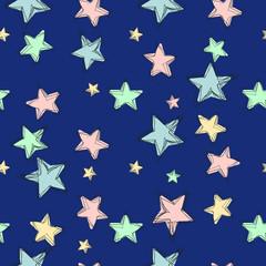 Vector Stars Pattern