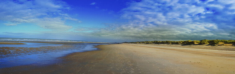 Bredene Beach Panorama