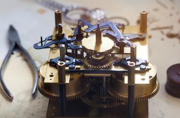 Clockwork spare parts