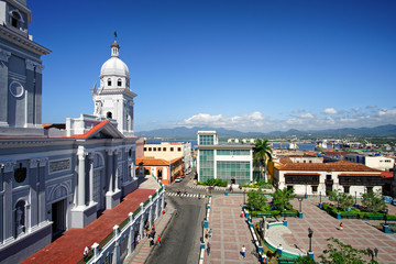 Kathedrale Santiago de Cuba am Parque Céspedes, Kuba